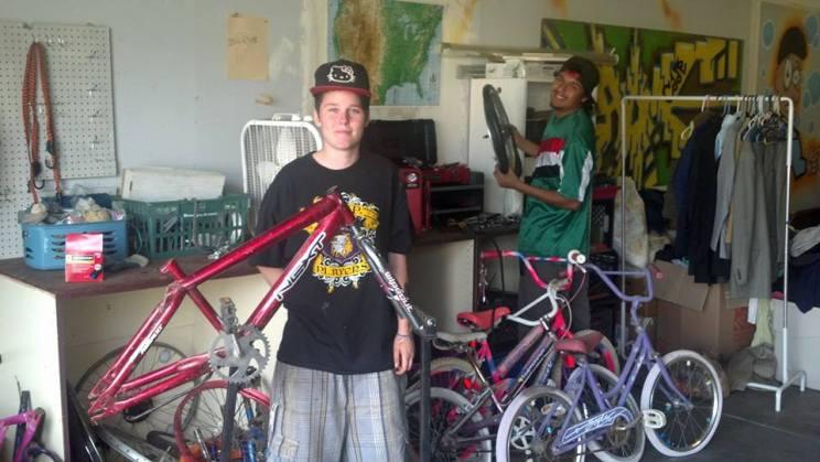 youthworkonbikes