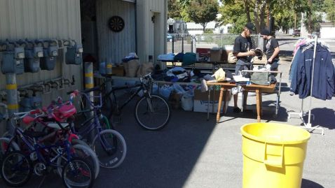 VIP's Monthly Free Market and Bike Workshop