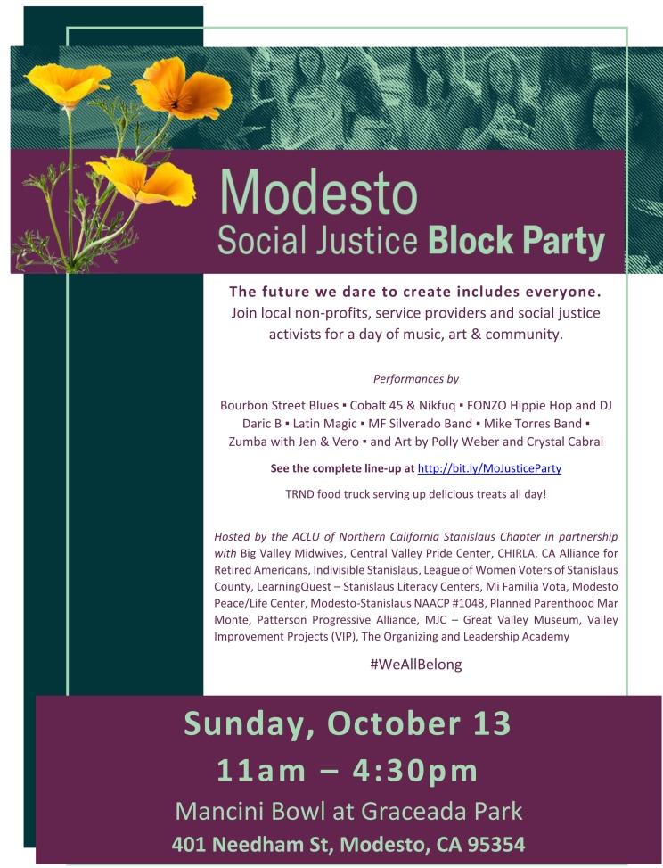 Modesto Social Justice Block Party 2019